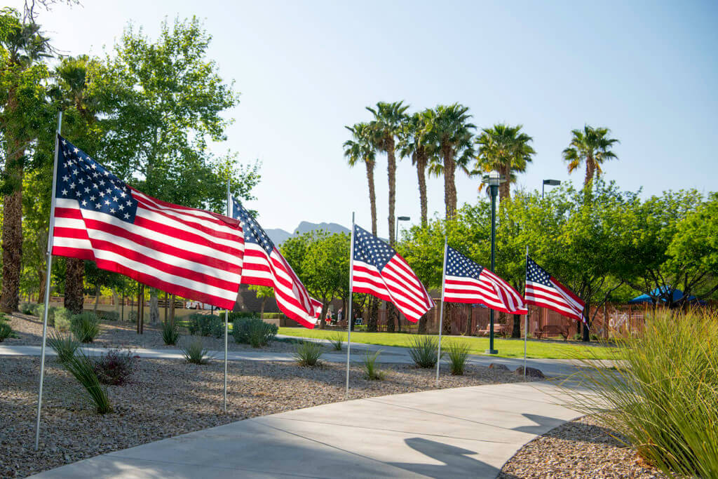 Flags Over Summerlin