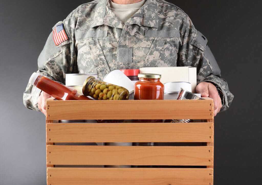 Drive-Thru Donations for Our Local Veterans